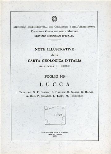 -- - Note illustrative della Carta Geologica d'Italia F°105. Lucca.