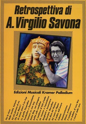 SAVONA,V. - Retrospettiva di Virgilio A. Savona.