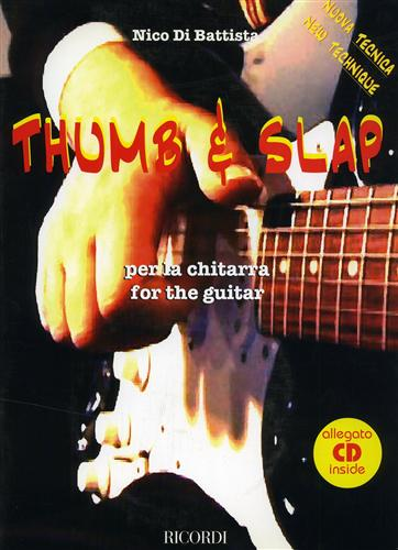 Thumb & slap per la chitarra. For the guitar.