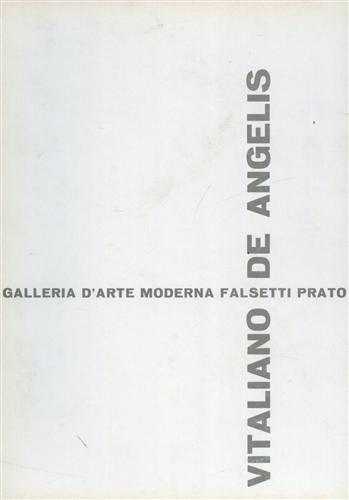 CATALOGO DELLA MOSTRA: - Vitaliano De Angelis: sculture e disegni.