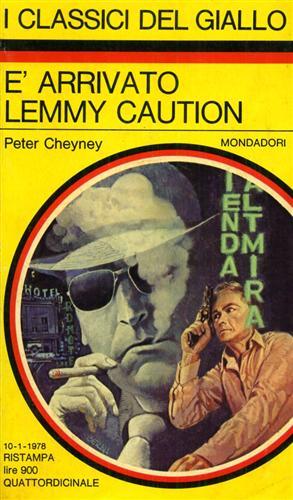 E' arrivato Lemmy Caution