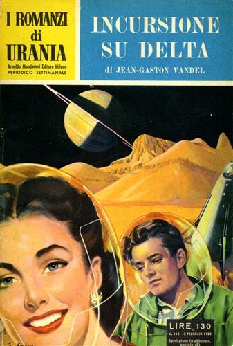 VANDEL,JEAN GASTON. - Urania. Incursione su Delta.