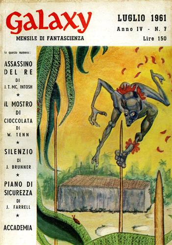 Galaxy,7,1961. Racconti.