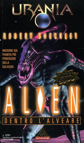 Urania. Alien dentro l'alveare.