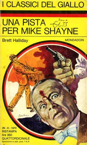 Una pista per Mike Shayne. I Classici del Giallo,96.