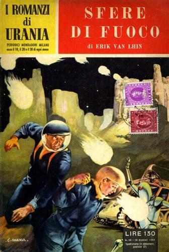 VAN LHIN,ERIK. - I romanzi di Urania. Sfere di fuoco.
