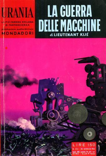 Urania. La guerra delle macchine.