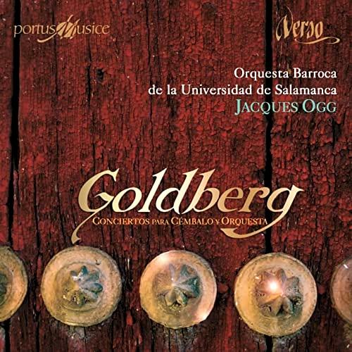 GOLDBERG,JOHANN GOTTLIEB (1727-1756). - Conciertos para Cémbalo y Orquesta. Orquesta Barroca de la Univers