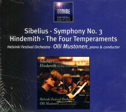 <b>Sibelius,Jean. Hindemith,Paul.</b><br/><br/>Sibelius: Symphony No.3. Hindemith: The Four Temperaments.
