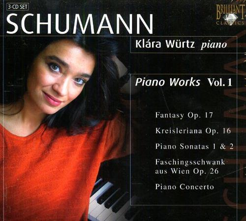 <b>Schumann,Robert (1810-1856).</b><br/><br/>Piano Works Vol.I.