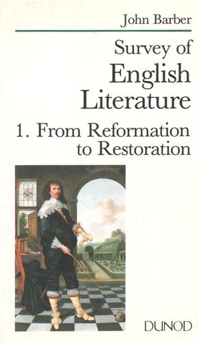 <b>Barber,J.</b><br/><br/>Survey of English Literature. From Reformation to Restoration.