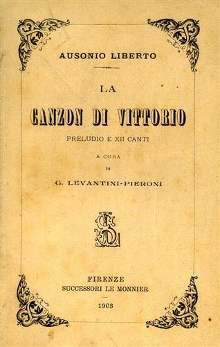 LIBERTO,A. - La canzon di Vittorio.