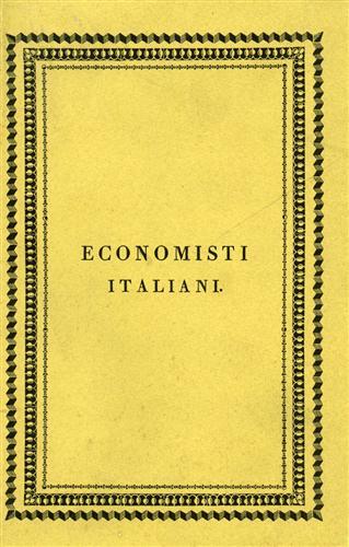 PAOLETTI,FERDINANDO TOSCANO.(1717-1801). - Estratto de' pensieri sopra l'agricoltura. I veri mezzi di rendere felici le società.