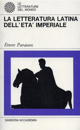 La letteratura latina dell'età repubblicana e augustea