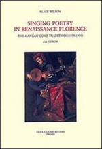9788822258106-Singing Poetry in Renaissance Florence. The Cantasi Come Tradition ca. 1375-1550