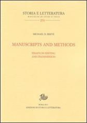 Reeve,Michael D. - Manuscripts and Methods. Essays on Editing and Transmission.