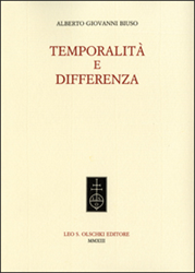 Biuso, Alberto Giovanni. - Temporalità e Differenza.
