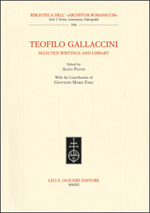 9788822261632-Teofilo Gallaccini. Selected Writings and Library.