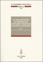 9788822261472-In the footsteps of Herodotus. Towards European Political Thought.
