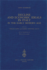 9788822263018-Decline and Economic Ideals in Italy. in the early modern age.
