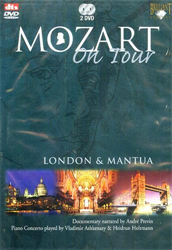 Mozart. - Mozart on Tour. London & Mantua.