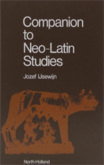 9789061863663-Companion to Neo-Latin Studies.