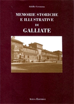9788870371253-Memorie Storiche e illustrative del Borgo di Galliate.
