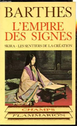 Barthes,Roland. - L'empire des signes.