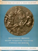 Renaissance bronzes from the Samuel H. Kress Collection. Reliefs, Plaquettes, St