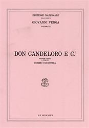 Verga,Giovanni. - Don Candeloro e C.