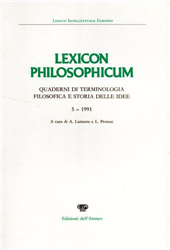 -- - Lexicon philosophicum. N.5, 1991.