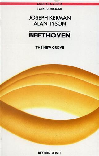 Kerman,Joseph. Tyson,Alan. - Beethoven. The New Grove.