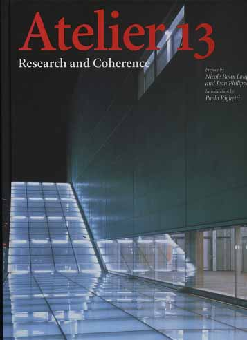 -- - Atelier 13. Research and Coherence.
