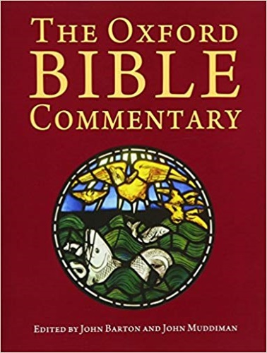 Barton, John (ed.). Muddiman, John (ed). - The Oxford Bible Commentary.