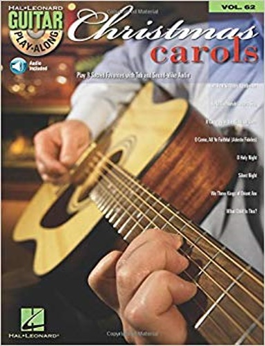 -- - Christmas Carols Guitar Play-Along Vol. 62.
