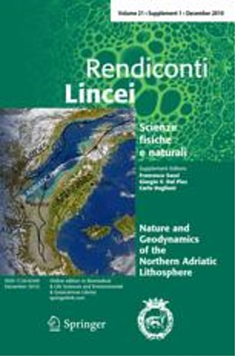 -- - Rendiconti Lincei. Scienze Fisiche e Naturali. Volume 21, Supplement 1, December 2010: Nature and Geodynamics of the Northern Adriatic Lithosphere.